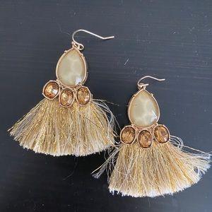 Anthropologie statement earrings